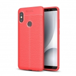 Etui Ipaky Leather Case Xiaomi Redmi Note 6 PRO Litchi RED