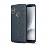 Etui Ipaky Leather Case Xiaomi Mi A2 Granatowe