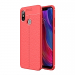 Etui Ipaky Leather Case Xiaomi Mi8 6.21 Czerwone
