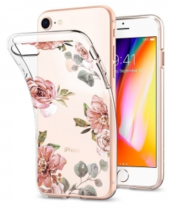 Spigen Liquid Crystal iPhone 8 / 7 Aquarelle Rose