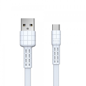 Remax Armor Series Kabel USB-C 2.4A 1m RC-116a WH