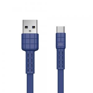 Remax Armor Series Kabel USB-C 2.4A 1m RC-116a BLUE