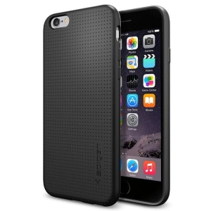 Spigen Liquid Air etui iPhone 6S / 6 Czarne