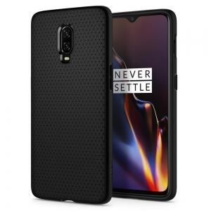 Spigen Liquid Air Etui Oneplus 6T Black K07CS25308