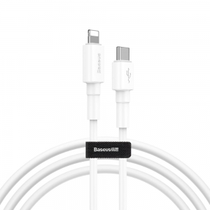 Baseus Mini White USB C Lightning 1m CATLSW-02