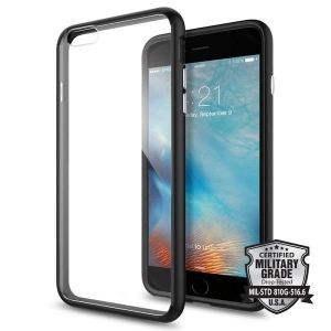 Spigen Ultra Hybrid etui iPhone 6 / 6S Plus Czarne