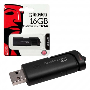 Kingston pendrive DT104 16GB czarny