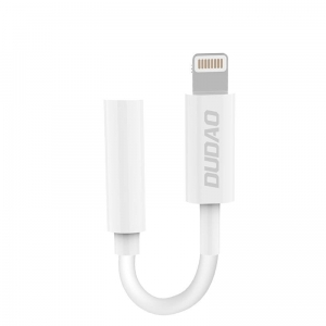 Dudao adapter audio Lightning na mini jack L16i