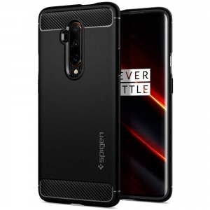 Spigen Rugged Armor etui do Oneplus 7T Pro czarne