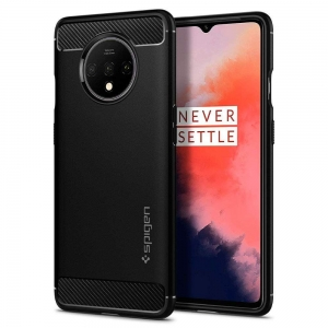 Spigen Rugged Armor etui do Oneplus 7T czarne