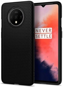 Spigen Liquid Air Etui do Oneplus 7T Matte Black