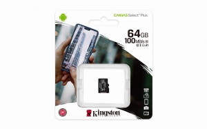 Kingston Canvas Select Plus SDCS2/64GB class 10 a1