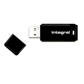 Pendrive Integral Flash Drive USB Czarny 64GB