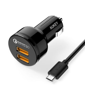 ŁAD SAM AUKEY CC-T8 2x2 USB QUICK CHARGE 3.0 36W