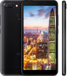 Xiaomi Redmi 6 3/32GB Czarny Global EU LTE Dual Sim