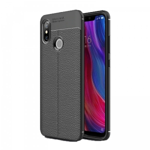 Etui Ipaky Leather Case Xiaomi Mi8 SE 5.88 Czarne