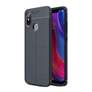 Etui Ipaky Leather Case Xiaomi Mi8 SE 5.88 Granat