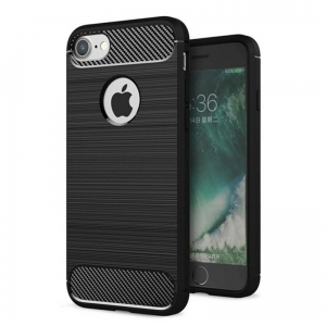 Etui Karbonowe Carbon Case iPhone 8 / 7 Czarne