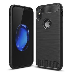 Etui Karbonowe Carbon Case iPhone XS / X Czarne