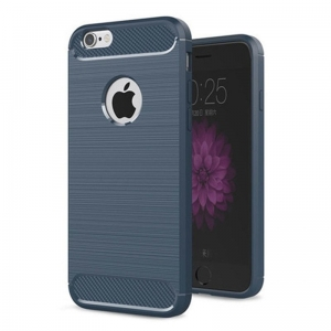 Etui Karbonowe Carbon Case iPhone 6S Plus / 6 Plus Granatowe