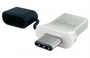 Integral Flash Drive USB 3.0 Typ C Aluminium 64GB