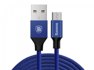 Baseus Kabel Yiven Micro USB 1m BLUE CAMYW-A13