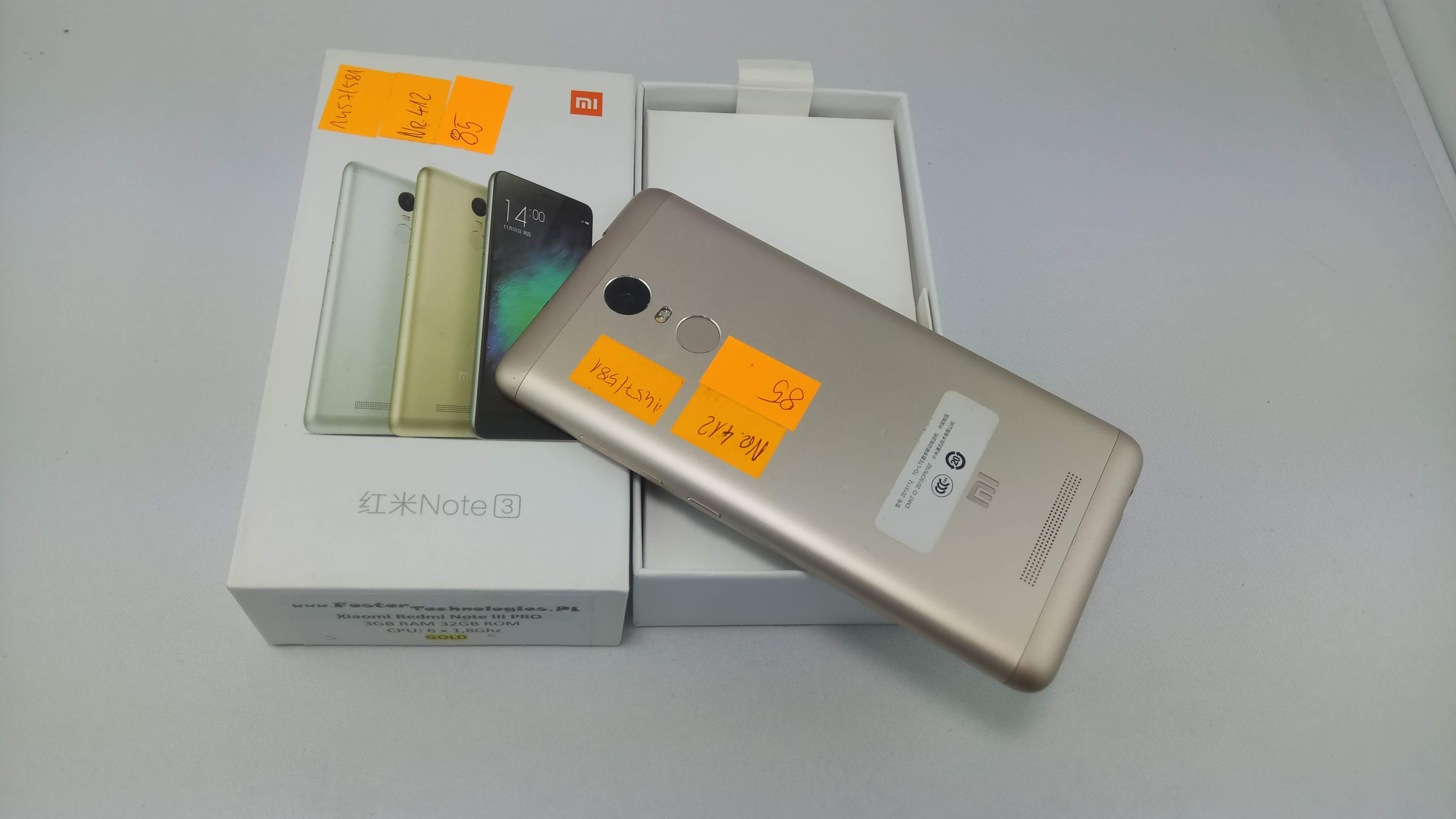 85 Xiaomi Redmi Note 3 Pro 32 Gb Gold Outlet Foster Technologies Img 20180706 192107 192114